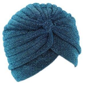 Accessories - SALE!! Teal Glitter Turban